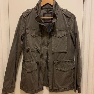 Tommy Hilfiger Olive Jacket Size Small New